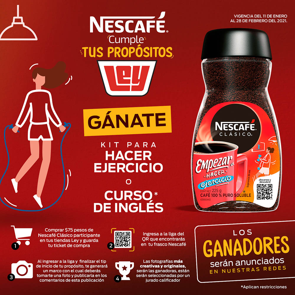 cumple propositos nescafe